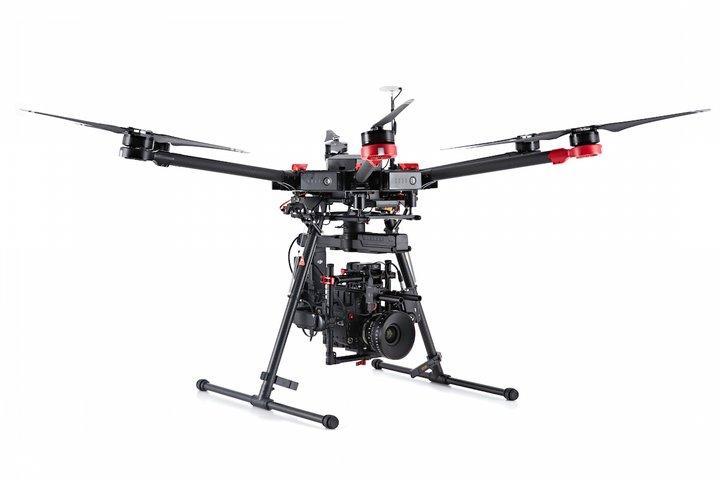 Professionelle optagelser med DJI Matrice 600 Pro
